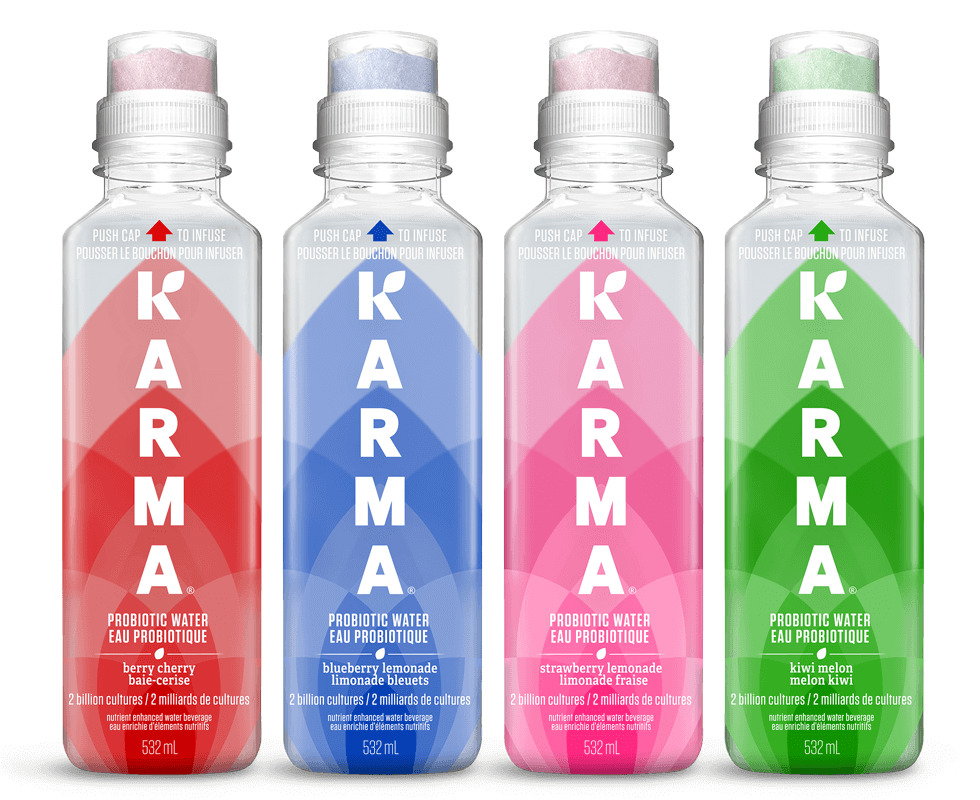 Bottle of Karma Probiotic