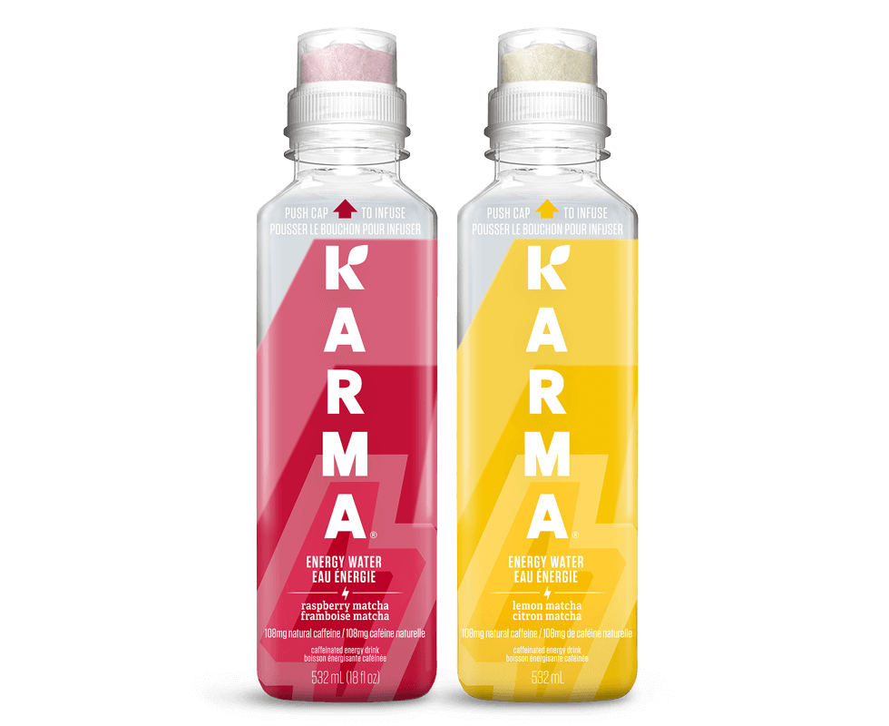 Bottle of KARMA ÉNERGIE